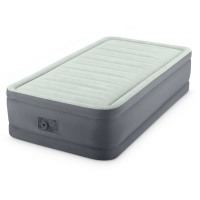 "Кровать-матрас ""TWIN PREMAIRE® I ELEVATED AIRBED WITH FIBER-TECH BIP"",эл/н220V,191х137х46 INTEX 64904NP"